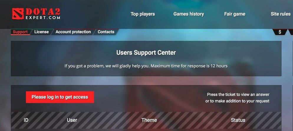 Dota2Expert support