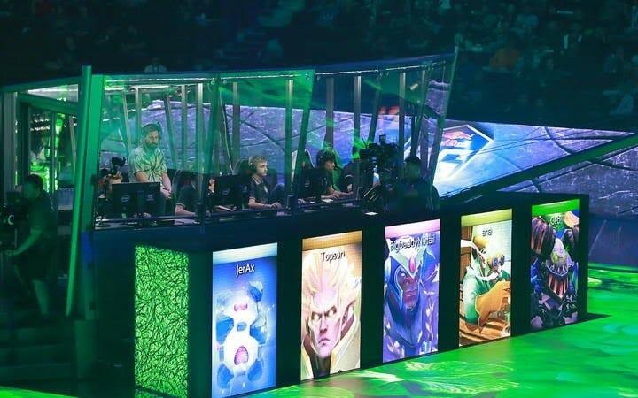 DOTA 2 International game