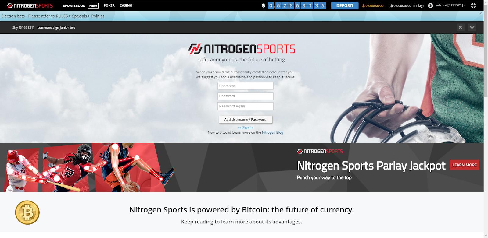 Nitrogen Sports Home