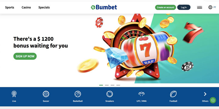 bumbet main page