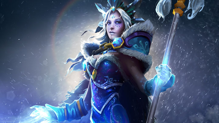 Crystal Maiden dota2