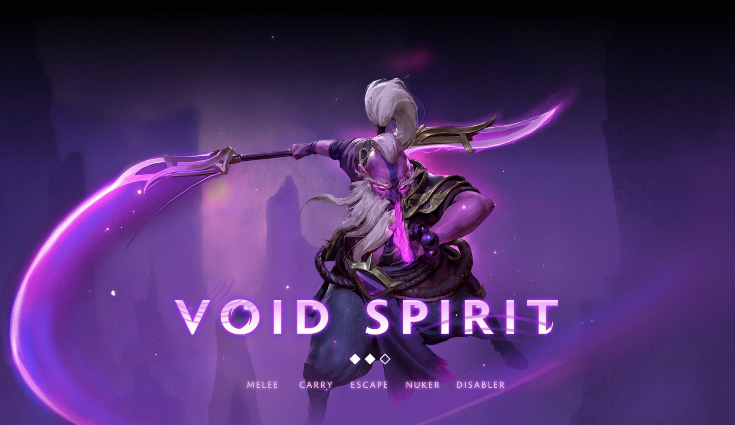 DOTA 2 Outlanders void spirit