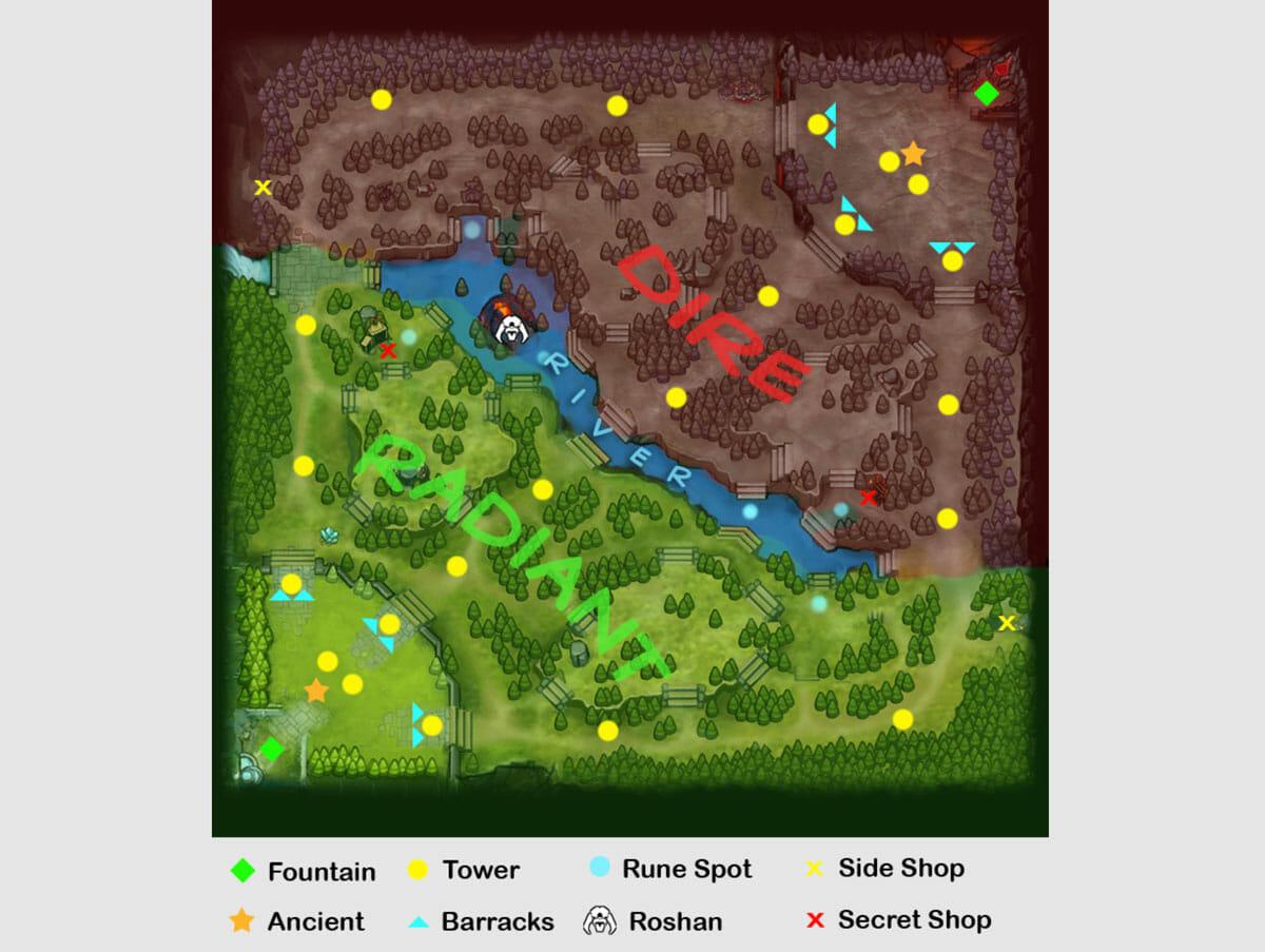 Dota 2 Maps